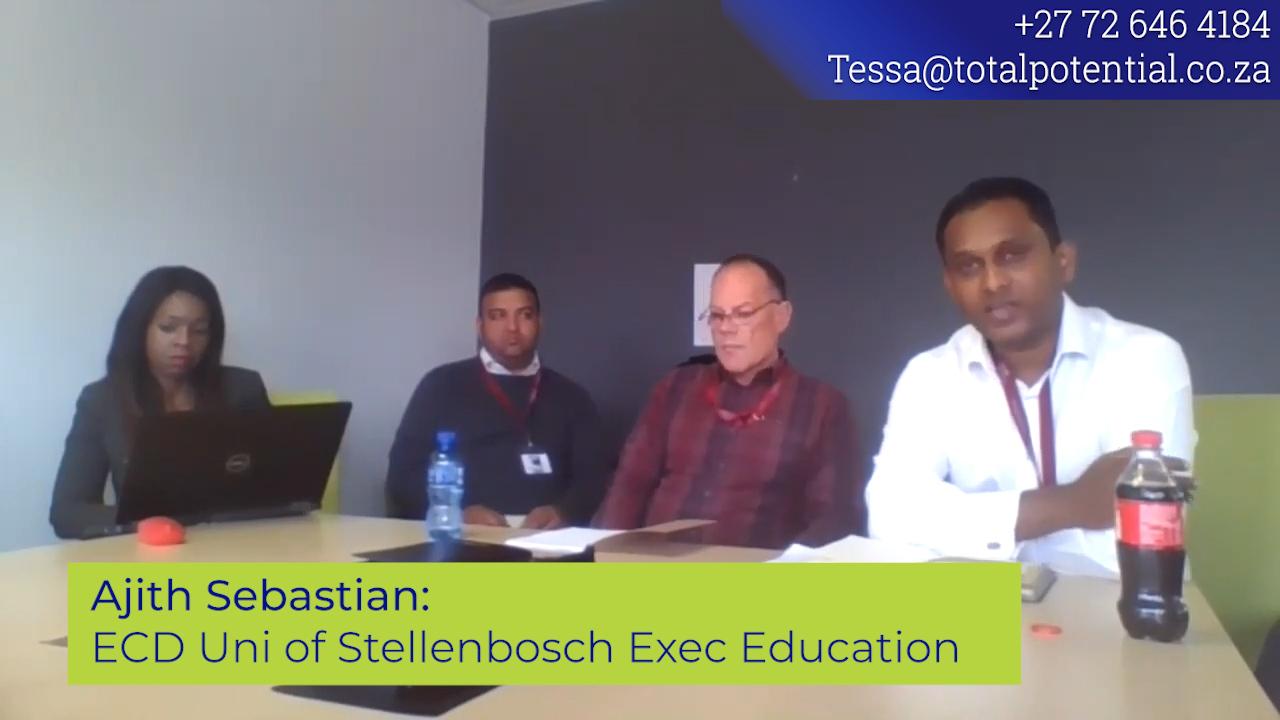ECD Uni of Stellenbosch Exec Education